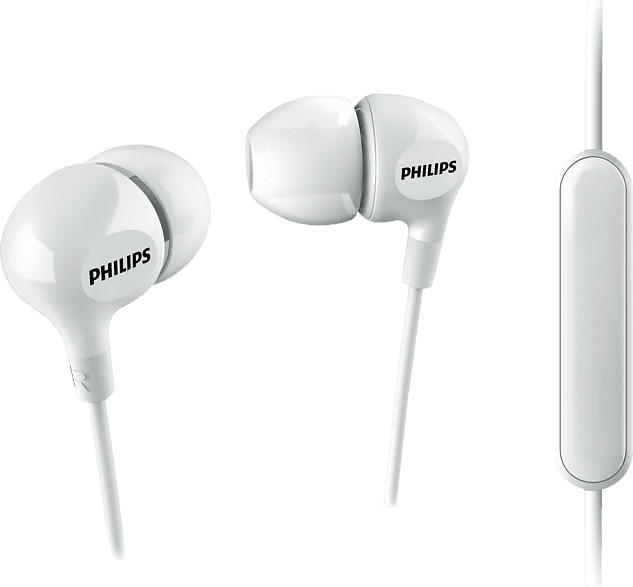 PHILIPS SHE3555WT, In-ear Kopfhörer  Weiß