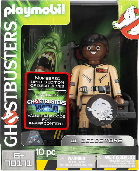 PLAYMOBIL Ghostbusters Winston Zeddemore Sammelfigur, Mehrfarbig