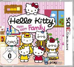 Hello Kitty Happy Happy Family [Nintendo 3DS]