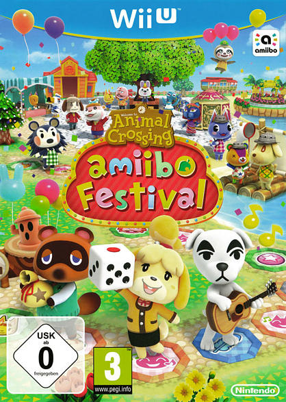 WU ANIMAL CROSSING AMIIBO FESTIVAL [Nintendo Wii U]