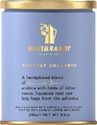 HAUSBRANDT Gourmet Columbus Bohnenkaffee