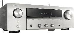 DENON DRA-800H Stereo Netzwerk Receiver (2 Kanäle, Silber)