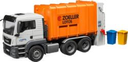 BRUDER MAN TGS Müll-LKW Hecklader Spielzeugfahrzeug, Mehrfarbig