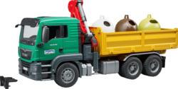 BRUDER MAN TGS LKW mit Ladekran Spielzeugfahrzeug, Mehrfarbig