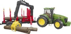 BRUDER John Deere 7930 mit Rückeanhänger Spielzeugfahrzeug, Mehrfarbig