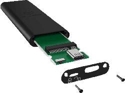 ICY BOX ICY BOX Externes USB Type-C Gehäuse für M.2 SATA SSD