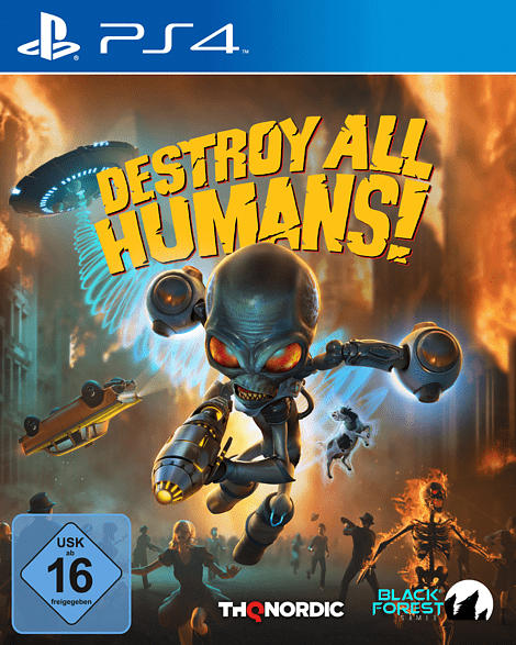 Destroy all Humans! [PlayStation 4]