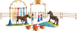 SCHLEICH Pony Agility Training Spielfigur, Mehrfarbig