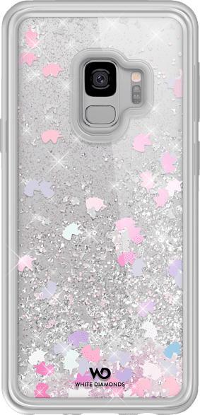 WHITE DIAMONDS Sparkle , Backcover, Samsung, Galaxy S9, Kunststoff, Mehrfarbig
