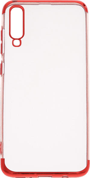 V-DESIGN HBC 089 , Backcover, Samsung, Galaxy A70, Thermoplastisches Polyurethan, Rot