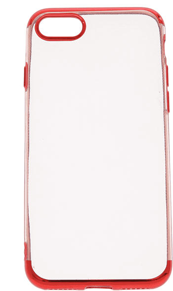 V-DESIGN HBC 053 , Backcover, Apple, iPhone 7, iPhone 8, Thermoplastisches Polyurethan, Rot