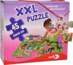MediaMarkt NORIS XXL Puzzle Ferien auf dem Ponyhof Puzzle, Mehrfarbig