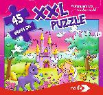 MediaMarkt NORIS XXL Puzzle Prinzessin im Zauberwald Puzzle, Mehrfarbig
