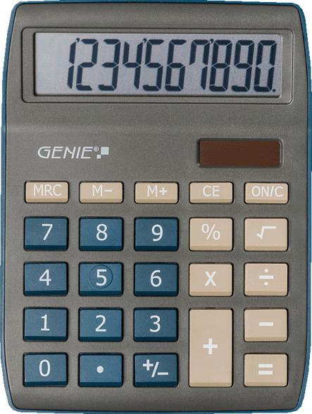 GENIE GENIE 840 DB Taschenrechner