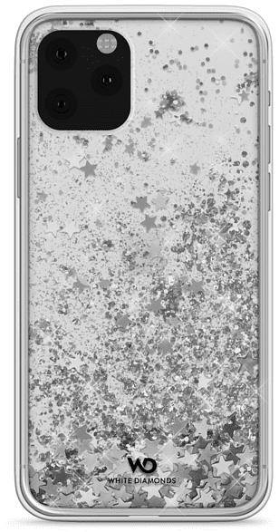 WHITE DIAMONDS Sparkle , Backcover, Apple, iPhone 11 Pro, Kunststoff, Silber