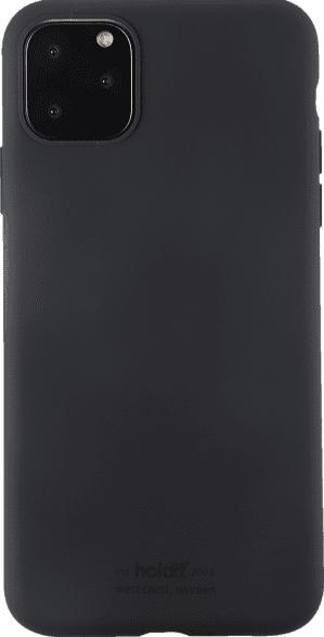 HOLDIT 14306 SILICONE CASE , Backcover, Apple, iPhone 11 Pro Max, Silikon, Schwarz