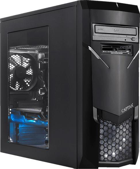 CAPTIVA I50-278, Gaming PC mit Core™ i5 Prozessor, 8 GB RAM, 480 GB SSD, 1 TB HDD, GeForce GTX 1650 , 4 GB