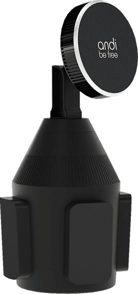 ANDI BE FREE Wireless Cupholder Fast Charger induktive ladestation  Schwarz