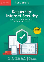Kaspersky Internet Security 3 Geräte (Code in a Box) (FFP)