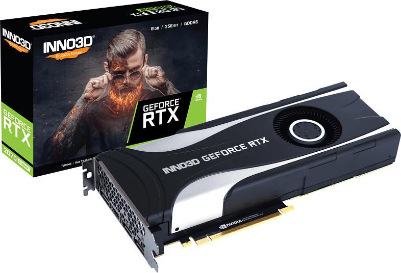 INNO3D GeForce® RTX 2070 SUPER™ Jet 8GB (N207S1-08D6-1180651) (NVIDIA, Grafikkarte)