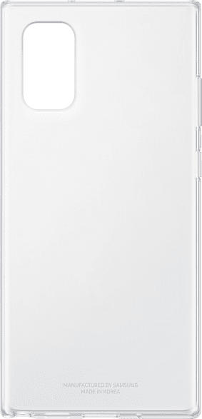 SAMSUNG Clear Cover , Backcover, Samsung, Galaxy Note10+, Kunststoff, Transparent