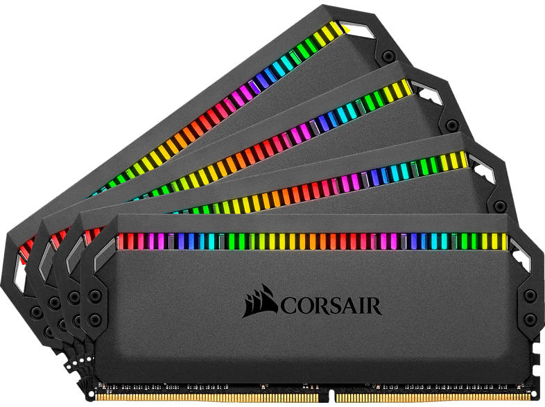 CORSAIR CMT32GX4M4C3200C16 DOMINATOR PT RGB 4X8GB DRAM 32 GB DDR4