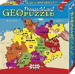 Media Markt AMIGO 00382 GEOPUZZLE - DEUTSCHLAND Puzzle, Mehrfarbig