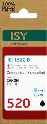 ISY ICI-1520-B Tintenpatrone wiederaufbereitete Tintenpatrone 520 Schwarz