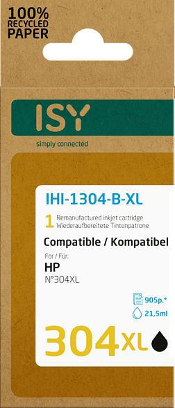 ISY IHI-1304-B-XL Tintenpatrone Schwarz