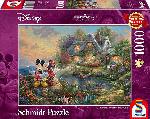 MediaMarkt SCHMIDT SPIELE (UE) Puzzle Disney Sweethearts Mickey &Minnie 1.000 Teile  Puzzle, Mehrfarbig