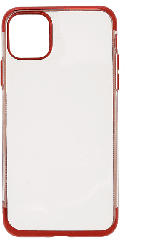 V-DESIGN HBC 125 , Backcover, Apple, iPhone Pro Max, Thermoplastisches Polyurethan, Rot
