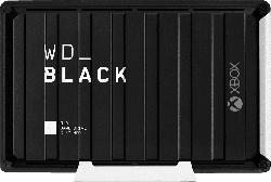 WD Black D10 Game Drive für Xbox One Externe Festplatte 12 TB, 3,5 Zoll , Gaming-Festplatte, Schwarz