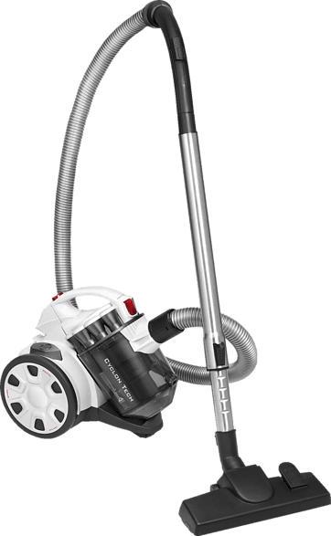 PROFI CARE PC-BS 3039, Staubsauger, 700 Watt, Weiß/Titan