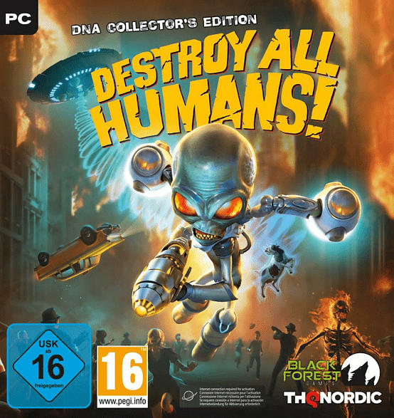 Destroy All Humans! DNA Collectors Edition [PC]