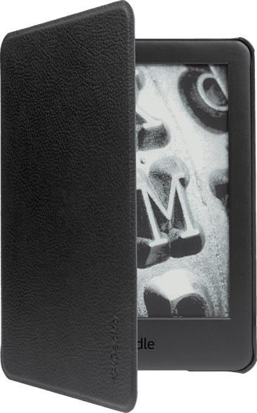GECKO Slimfit Cover, E-Book Reader Hülle, Kindle 10.Gen (2019), Schwarz