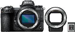 NIKON Z 7 Kit FTZ Adapter 64GB XQD Systemkamera 45.7 Megapixel  , 8 cm Display  , WLAN