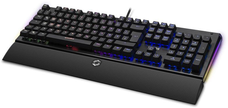 SPEEDLINK ORIOS RGB Opto-mechanical, Gaming Keyboard, Opto-Mechanical
