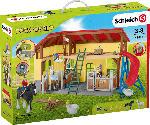 MediaMarkt SCHLEICH Pferdestall Spielfigur, Mehrfarbig