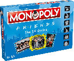 Media Markt WINNING MOVES MONOPOLY - Friends Brettspiel, Mehrfarbig