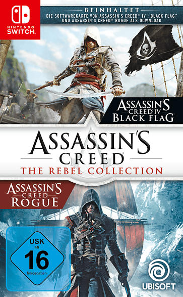 SW ASSASSINS CREED THE REBEL COLLECTION [Nintendo Switch]