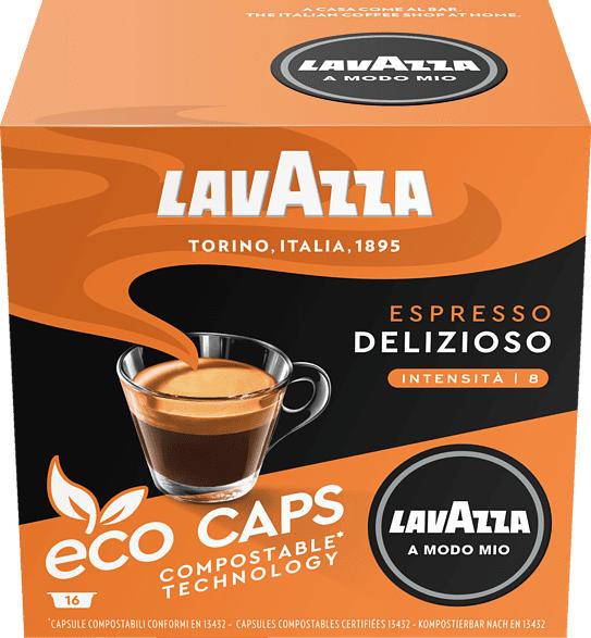 LAVAZZA 8971 A Modo Mio ECO Espresso Delizioso Kaffeekapseln (Espresso)