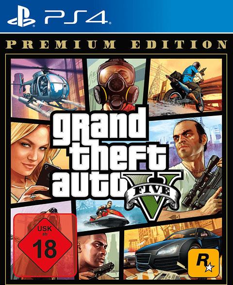 Grand Theft Auto V - Premium Edition [PlayStation 4]