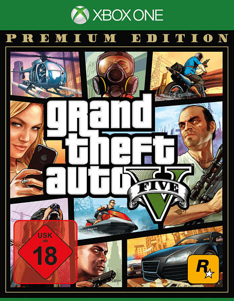 Grand Theft Auto V - Premium Edition [Xbox One]