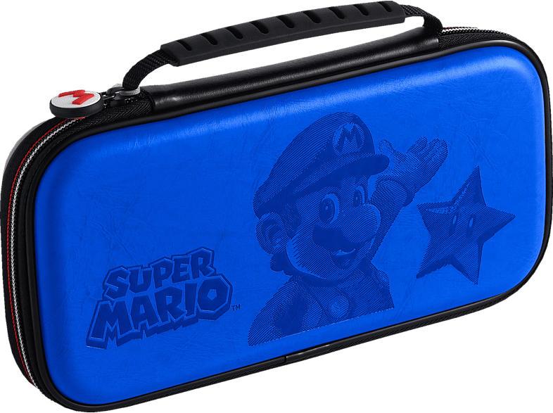 BIGBEN Deluxe Transporttasche Zubehör für Nintendo Switch, Blau