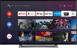 TOSHIBA 50UA3A63DG LED TV (Flat, 50 Zoll/126 cm, UHD 4K, SMART TV, Android TV 9.0)