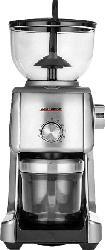 GASTROBACK Design Advanced Plus Kaffeemühle Silber (130 Watt, Edelstahl-Kegelmahlwerk)
