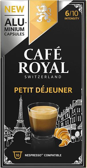CAFE ROYAL Petit Dejeneur Alu Kaffeekapseln (Nespresso)