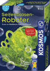 KOSMOS Fun Science Seifenblasen-Roboter Experimentierkasten, Mehrfarbig