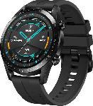 Media Markt HUAWEI  Watch GT 2 46mm Sport Smartwatch, Fluorkautschuk, 140-210 mm, Schwarz