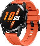 Media Markt HUAWEI  Watch GT 2 46mm Sunset Smartwatch, Fluorkautschuk, 140-210 mm, Orange